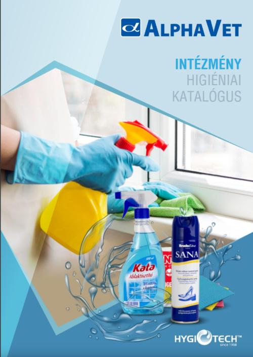Hygitech intézmény higiéniai katalógus